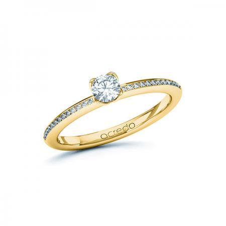 Bague de mariage fine avec demi tour serti de diamants avec diamant brillant.jpeg