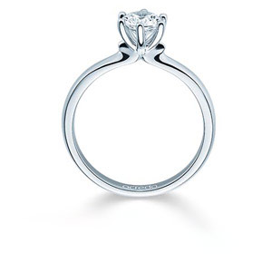 Bague de fiancailles solitaire diamant