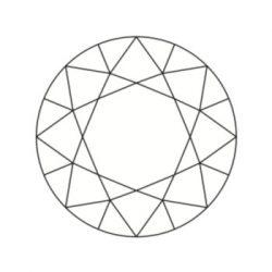 Diamant rond dit brillant