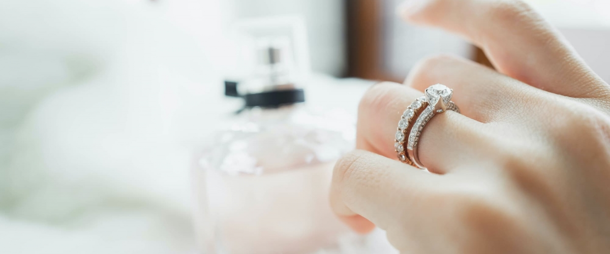 Bagues de fiançailles pour la Saint-Valentin Acredo By Loverings