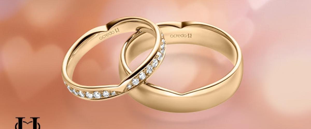 Alliances de mariage Secret Heart